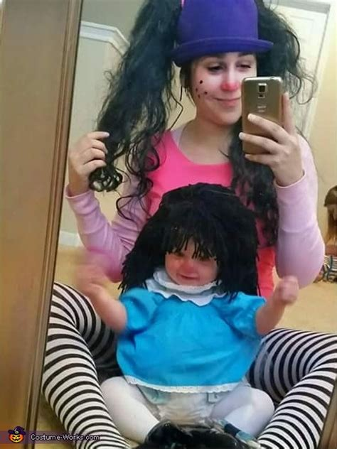 Molly The Dolly Big Comfy by Loonette The Clown And Molly Dolly Costume