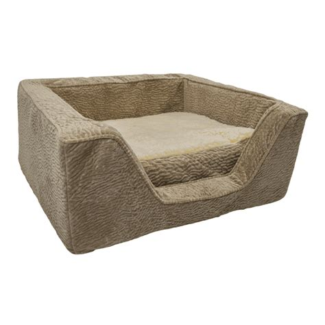 foam dog bed snoozer luxury square dog bed with memory foam show dog