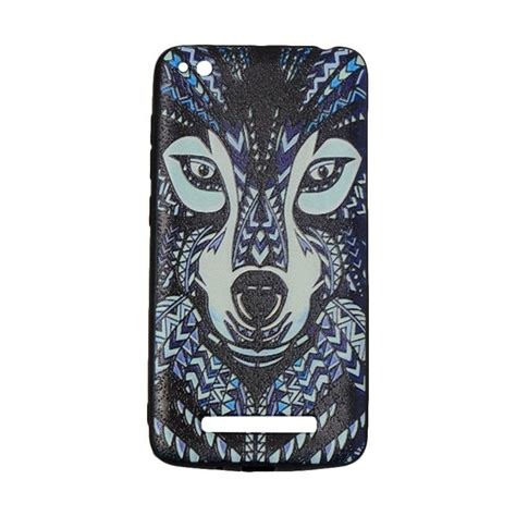 Vr Xiaomi Redmi 4a jual vr animal luxo rimba wolf silicone softcase casing