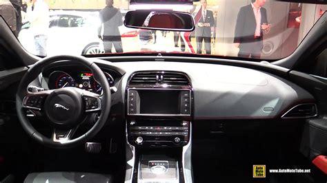 imagenes interior jaguar xe 2015 jaguar xe s interior walkaround 2015 geneva motor