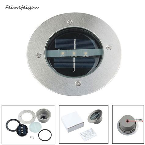 solar deck lights with remote panel feimefeiyou outdoor lighting solar powered panel led floor