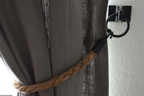 vorhang seil 30 nautische ideen mit seil dekoration