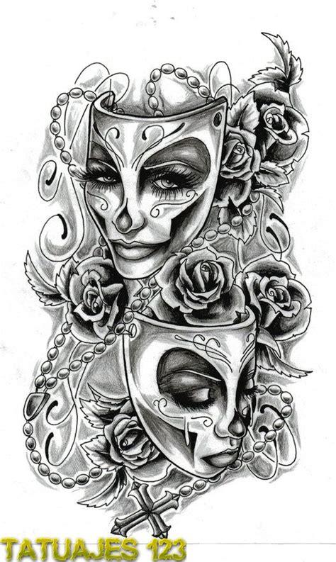 doodle demonios tatuajes de m 225 scaras tatuajes 123
