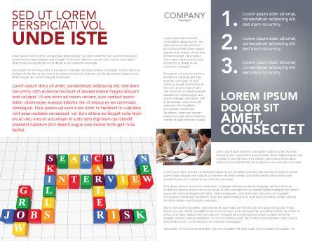 Job Benefits Brochure Template Design And Layout Download Now 03621 Poweredtemplate Com Benefits Brochure Template
