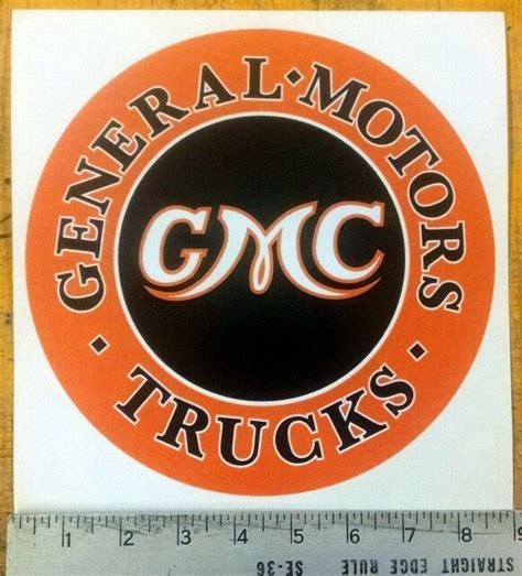 Gmc Decals And Stickers