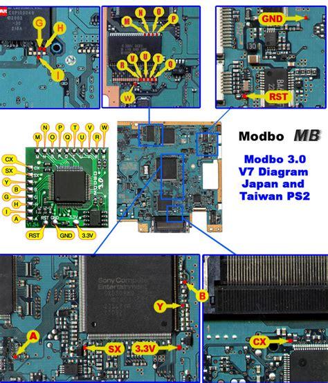 Ic Modbo 5 0 Ps2 Scph 39001 Ps2 Modbo 5 0 Modchip Installation V7 Ntsc