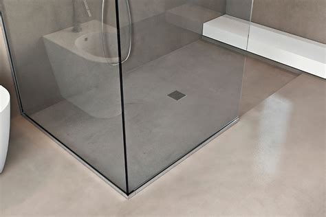 piatti doccia sottili piatto doccia filopavimento da rivestire basic shower