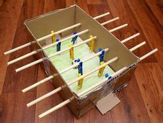 How To Make A Table Football Out Of Paper - 1000 ideas about soccer crafts on