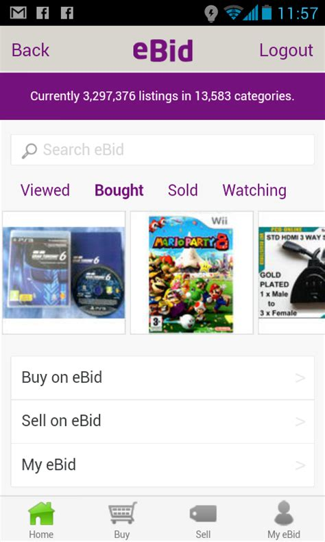 e bid ebid android apps on play