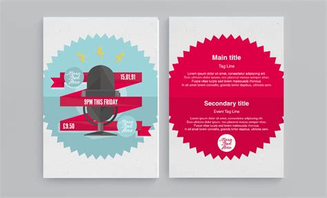 Wall Sticker Calendar free flyer and leaflet design templates download now