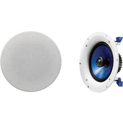 yamaha ns ic800 8 quot in ceiling speaker ns ic800 wh b h photo