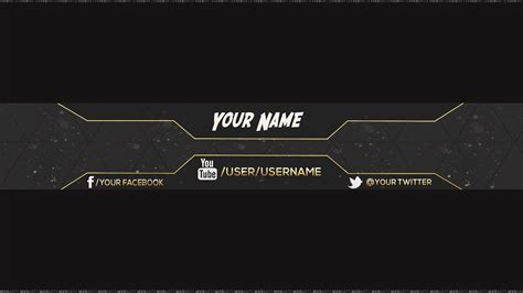 2560x1440 template reupload free amazing channel banner template 5