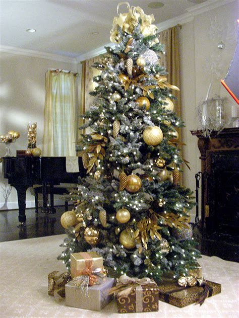 flocked christmas trees for sale