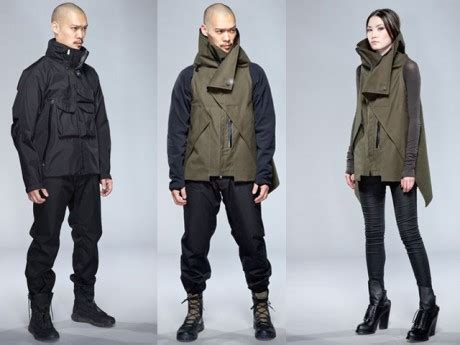 One Jaket Anime Marine Navy Canvas Jacket Hoodie Ja Op 43 acronym clothing is outdoor wear for cyberpunks the new
