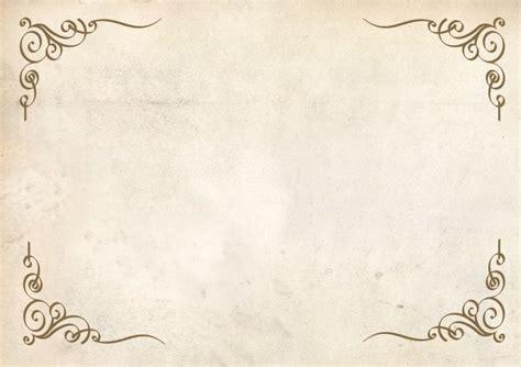 Wedding Border Paper Free by 無料の飾り枠 コーナーデコレーション Psd Free Style