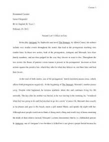 Exle Of A Literature Essay literature essay template application letter for vacancy exle essay introduction