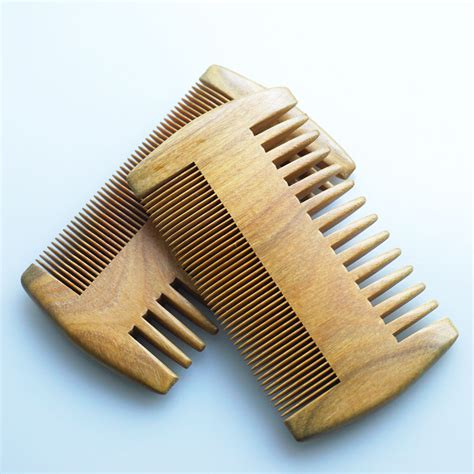 Handmade Comb - wood comb wooden pocket beard comb handmade coarse wide
