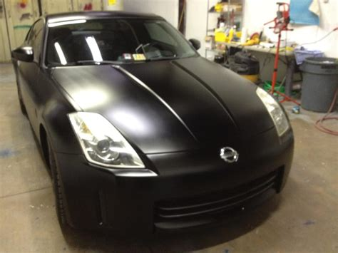 2006 nissan 350z whole car paint satin black this z was originally silver in color yelp