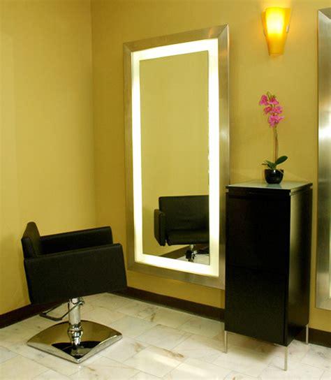 salon mirrors with lights salon styling mirror salon mirrors salon furniture