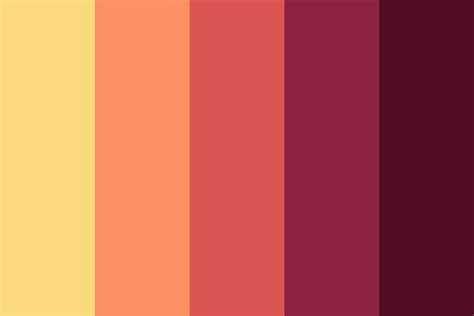the best color flat color palette