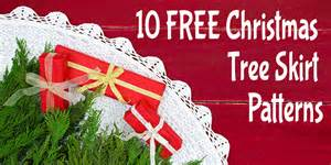 10 free christmas tree skirt patterns