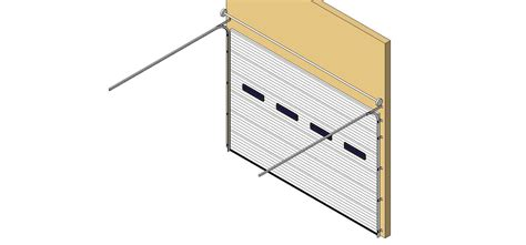 overhead sectional doors bim objects families