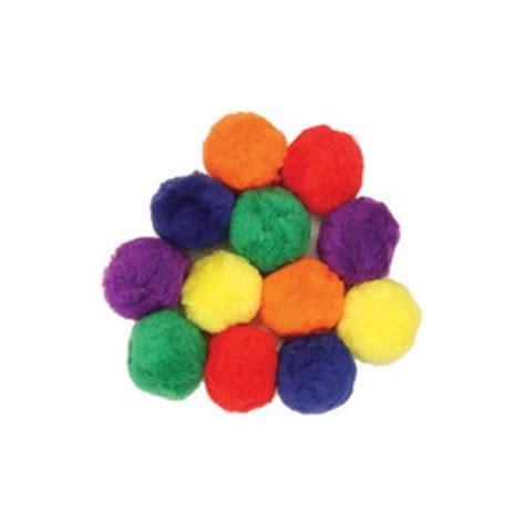colossal fluff balls 70 mm multi color craft activity