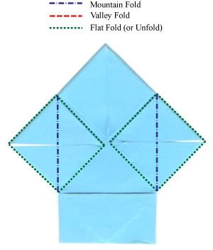 Easy Origami Shirt - how to make a traditional easy origami shirt page 10