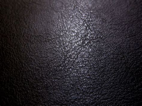 Leather Fabric by Faux Leather Fabric In Lambskin Pattern Black Half Yard