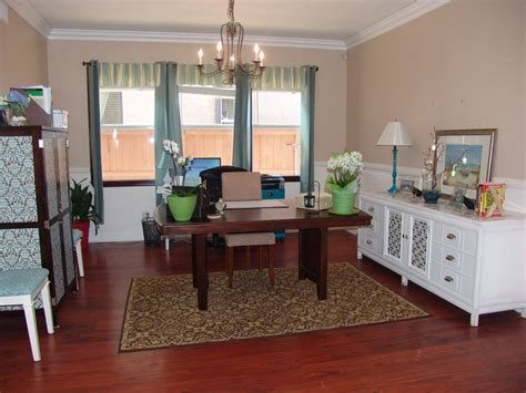 Turn Dining Room Into Office We Turned Our Dining Room Into An Office This Is The