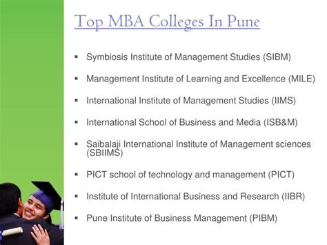 External Mba Colleges In Pune by Ppt Mba Colleges In Pune Powerpoint Presentation Id