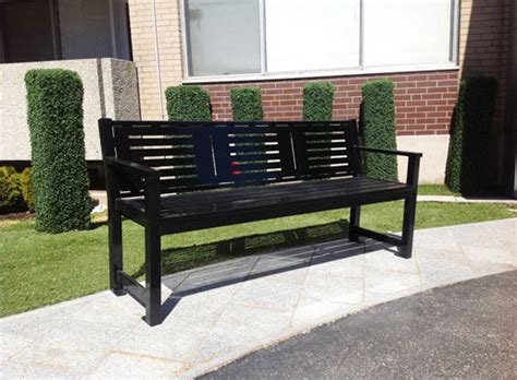 Maglin Site Furniture by Mlb400 Bench Exterior Benches From Maglin Site Furniture