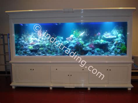 Jual Lu Aquarium Surabaya jual aquarium air laut 3 meter akuarium aksesoris