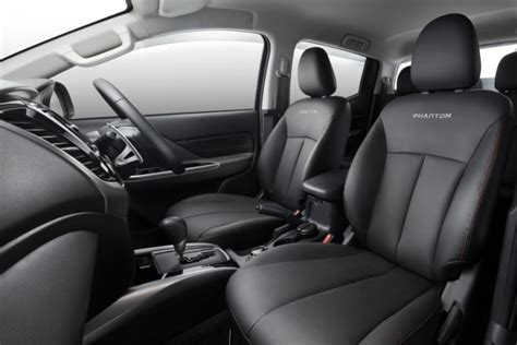 mitsubishi strada 2016 interior mitsubishi launches triton phantom edition in malaysia