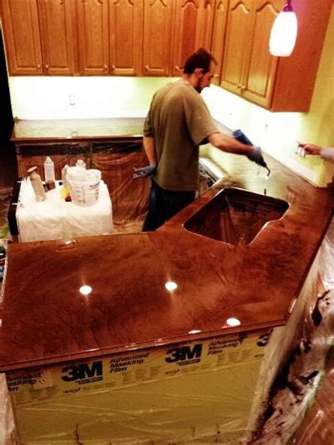 Epoxy For Bar Top by Home Decor Marvelous Epoxy Tables And Kitchen Countertops
