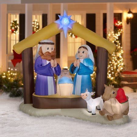 outdoor lighted nativity displays top 12 outdoor nativity sets absolute