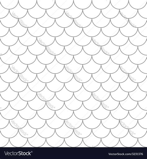 ai pattern scale seamless pattern with fish scales royalty free vector image