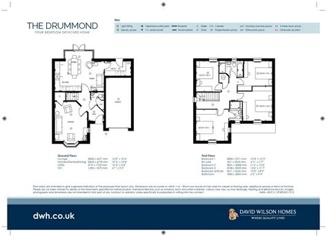 david wilson homes moorcroft floor plan