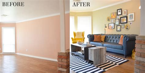Livingroom Makeover by Living Room Makeovers Before And After Pictures Living