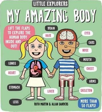 libro little explorers my amazing little explorers my amazing body ruth martin 9781783701339