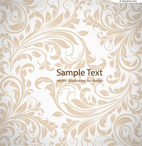 pattern vector elegant 4 designer simple and elegant pattern background vector