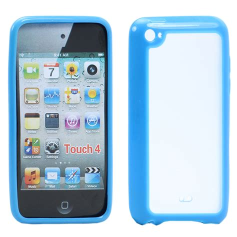 Ipod 4 Touch Ipod 5 Marble Blue Cover Casing Hardcase wholesale apple ipod touch 4 gummy blue