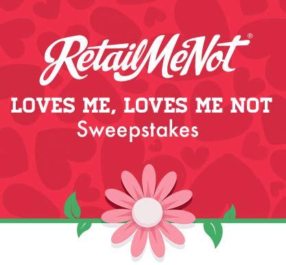Retailmenot Sweepstakes - retailmenot loves me loves me not sweepstakes instantly win 1 of 5 000 20 amazon