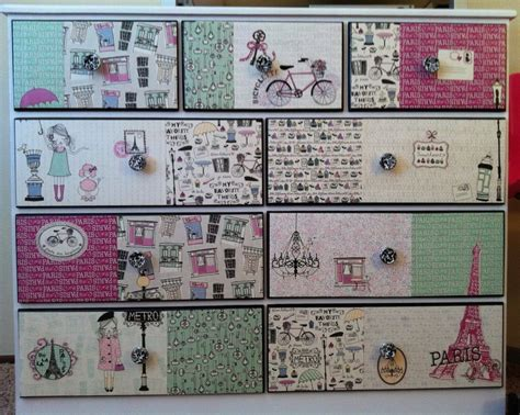 Decoupage Furniture With Scrapbook Paper - 198 best decoupage ideas images on home diy