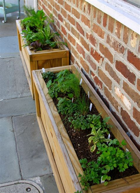 Diy Herb Garden Planter by Herb Garden Planter Diy Interior Design Ideas