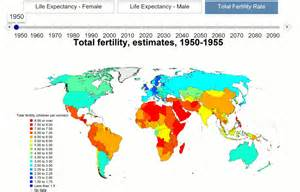 World Rates Total Fertility Rate