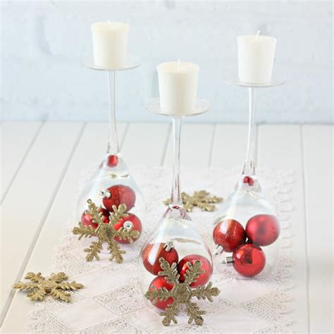 glass decorations for home 12 diy wine glass christmas decorations the bright ideas