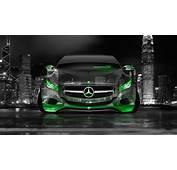 4K Mercedes Benz F800 Front Crystal City Car 2014  El Tony