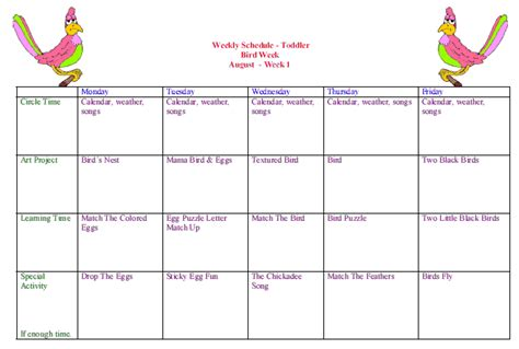 kindergarten themes for august toddler curriculum weekly calendars toddler lessons