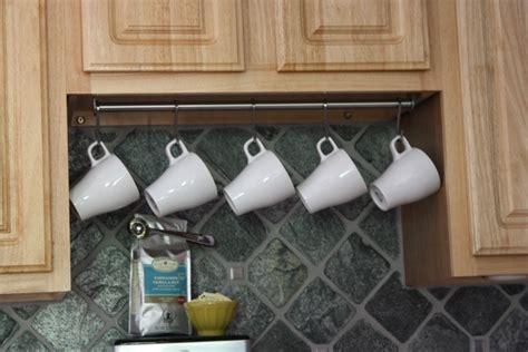 mug rack cabinet pin by megan coan on home